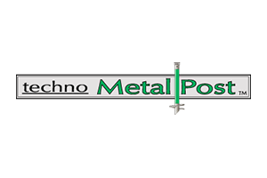 Techno Metal Post Logo