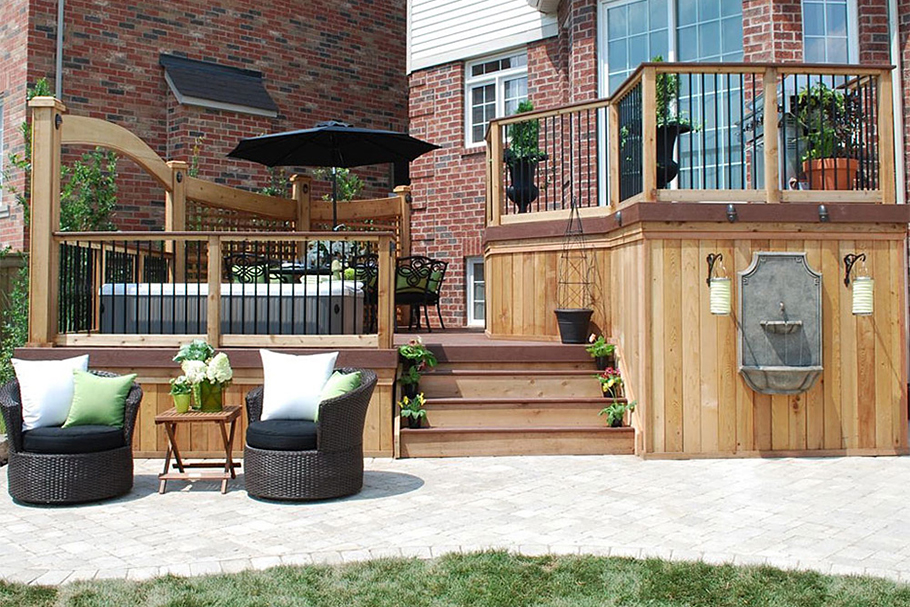 Hot Tub Deck - Hot Tub Deck Ideas - Paul Lafrance