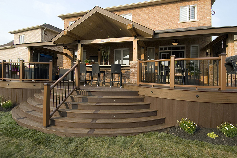 TV Deck by Paul Lafrance - Outdoor Living Space Ideas